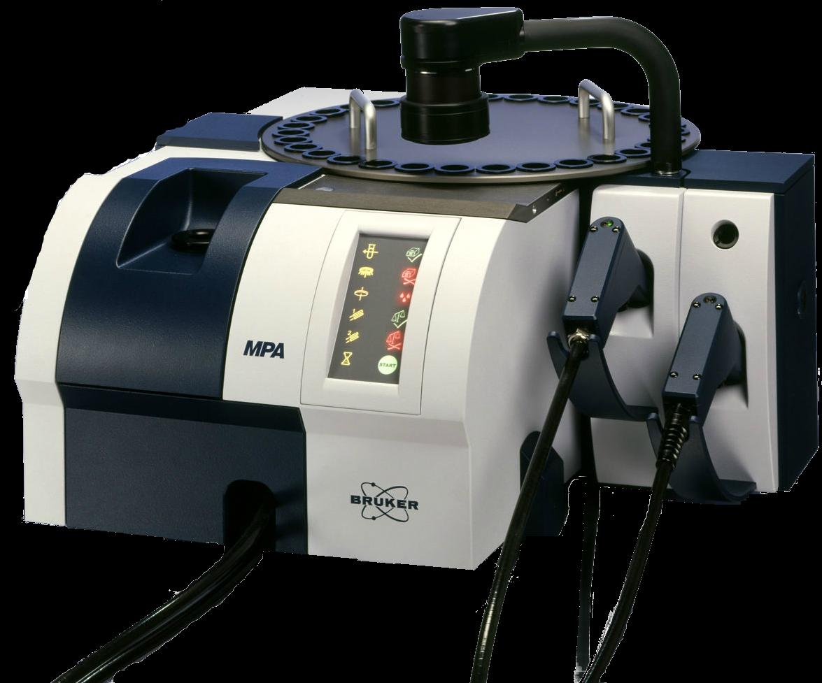 FT-NIR spectrometer. The MPA